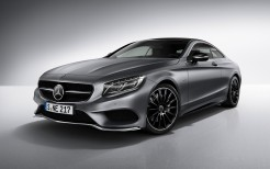 Mercedes Benz S Class Coupe Night Edition 4K 2017