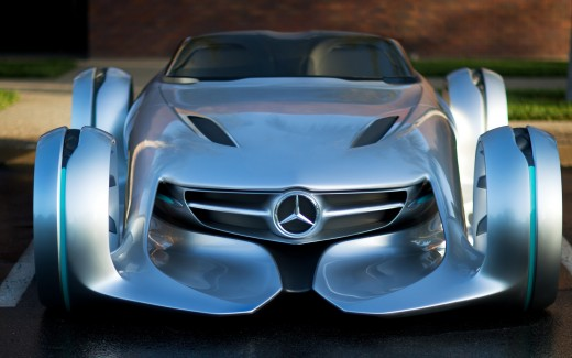 Mercedes Benz Silver Arrow Concept HD