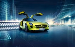 Mercedes Benz SLS AMG E Cell