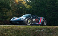 Porsche 918 Spyder Weissach Package Martini Racing 4K 2
