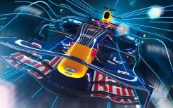 Red bull F1 Racing Car