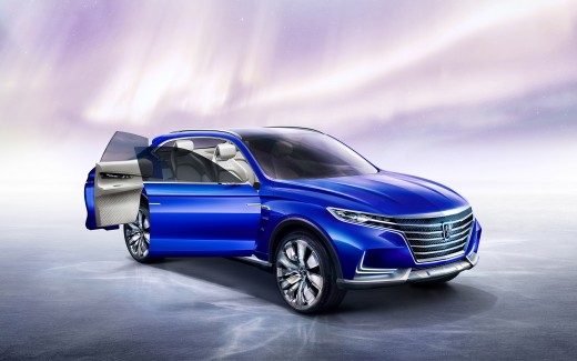 Roewe Vision E   Concept Electric SUV