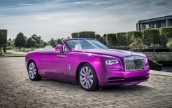 Rolls Royce Dawn In Fuxia 2017 4K