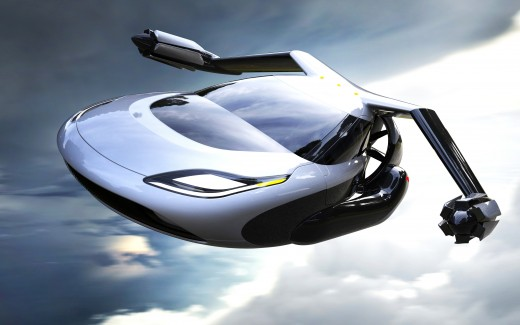 Terrafugia TF X Flying car