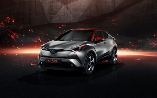 Toyota C HR Hy Power Concept 4K