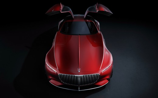 Vision Mercedes Maybach 6 2017 4K