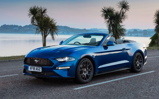 2018 Ford Mustang Ecoboost Convertible 4K