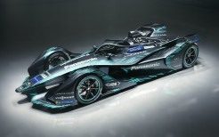 2018 Jaguar I Type Electric Formula E Car 4K