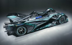 2018 Jaguar I Type Electric Formula E Car 4K 2