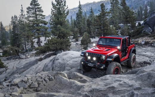 2018 Jeep Wrangler with Mopar Jeep Performance Parts