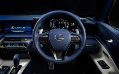 2018 Lexus LC 500h Structural Blue Interior
