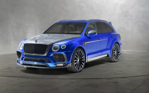 2018 Mansory Bentley Bentayga Bleurion Edition 4K