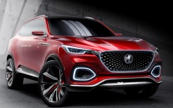 2018 MG X Motion SUV Concept 4K 2