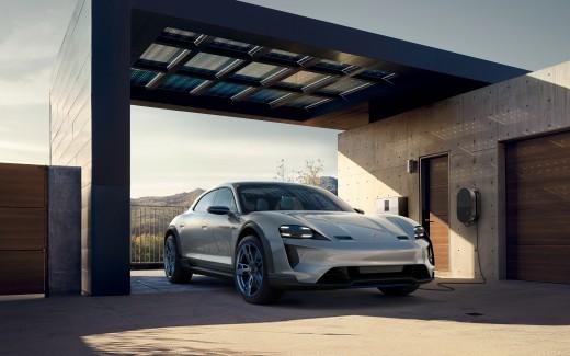 2018 Porsche Mission E Cross Turismo 4K 9 Wallpaper