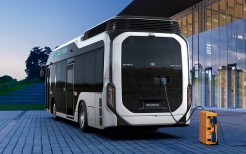 2018 Toyota Sora Fuel Cell Bus 4K