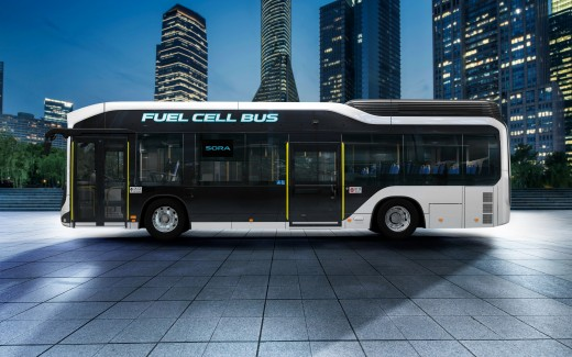 2018 Toyota Sora Fuel Cell Bus 4K 2