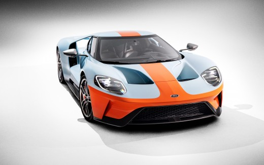 2019 Ford GT Heritage Edition 4K 3