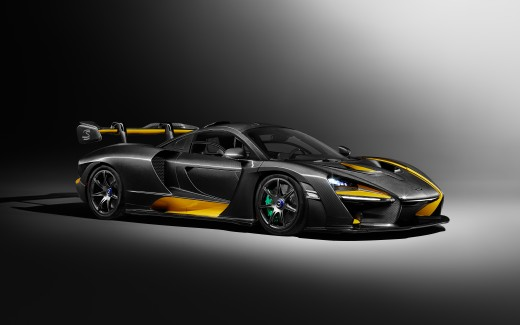 5 Car Themed Wallpapers For Ipad: 2019 McLaren Senna Carbon Theme By MSO 5K Wallpaper