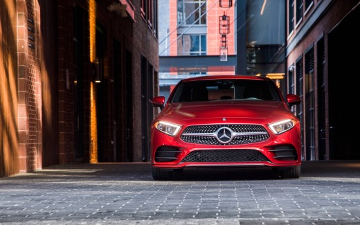 2019 Mercedes-Benz CLS 450 AMG Line 4K Wallpaper