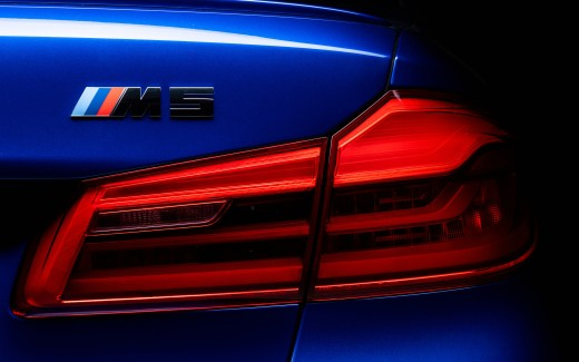 BMW M5 LED Tail Lights 4K