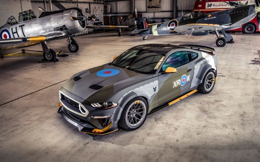 Ford Eagle Squadron Mustang GT 2018 4K Wallpaper