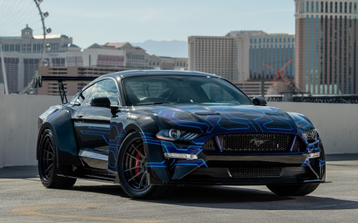 Galpin Auto Sports Wide-Body Road Racing Mustang 4K