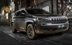 Jeep Cherokee Trailhawk 2018 4K