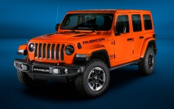 Jeep Wrangler Unlimited Rubicon 2018 4K