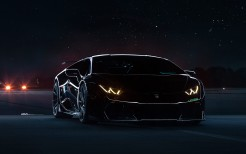 Lamborghini Huracan Black Underground Racing Twin Turbo