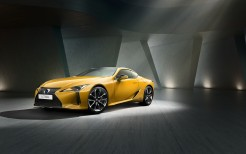 Lexus LC 500h Yellow Edition 2018 4K