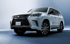 Lexus LX 570 Black Sequence 2018 4K