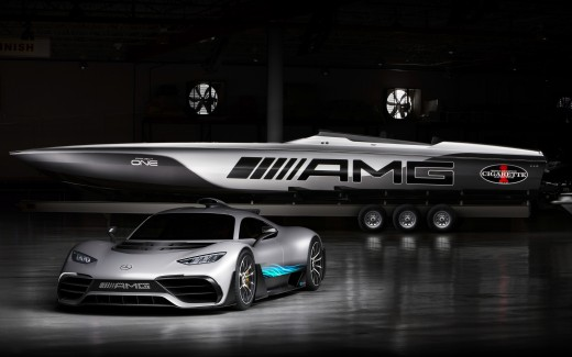 Mercedes AMG Project One 4K 3