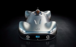 Mercedes Benz Vision EQ Silver Arrow 4K