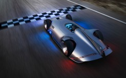 Mercedes Benz Vision EQ Silver Arrow 4K 14