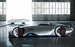 Mercedes Benz Vision EQ Silver Arrow 4K 17