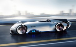 Mercedes Benz Vision EQ Silver Arrow 4K 2