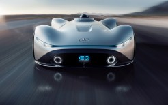 Mercedes Benz Vision EQ Silver Arrow 4K 4