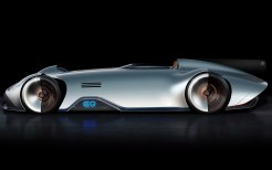 Mercedes Benz Vision EQ Silver Arrow 4K 7