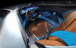 Mercedes Benz Vision EQ Silver Arrow 4K Interior