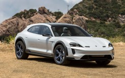 Porsche Mission E Cross Turismo 2018 4K 2
