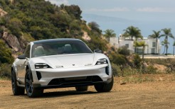 Porsche Mission E Cross Turismo 2018 4K 3