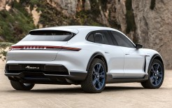 Porsche Mission E Cross Turismo 2018 4K 4