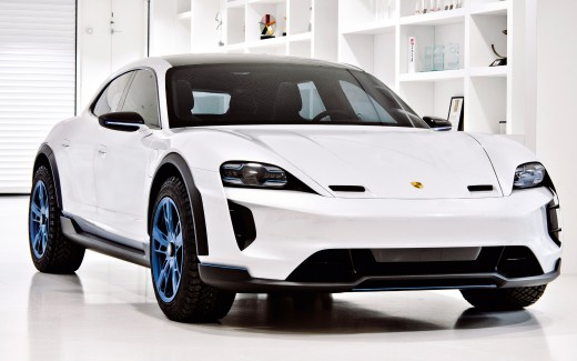Porsche Mission E Cross Turismo 2018 4K
