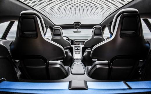 Porsche Mission E Cross Turismo 2018 4K Interior Wallpaper