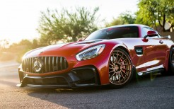 Red Darwin Pro Mercedes AMG GTS