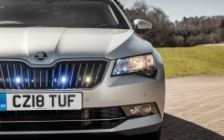 Skoda Superb Combi Armoured 2018 4K