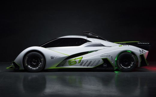 Spice-X Concept Electric Racing Car 4K 2
