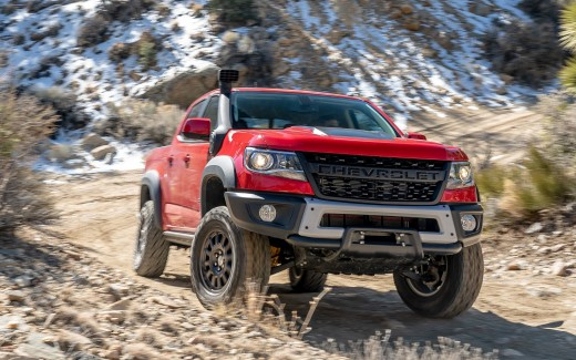 2019 Chevrolet Colorado ZR2 Bison Crew Cab 4K