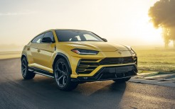 2019 Lamborghini Urus Shiny Black Package 4K