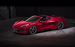 2020 Chevrolet Corvette Stingray Z51 Convertible 4K